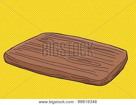 Cutting Board Cartoon