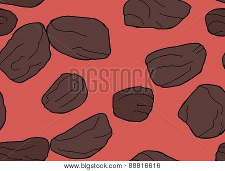 Group Of Repeating Raisins