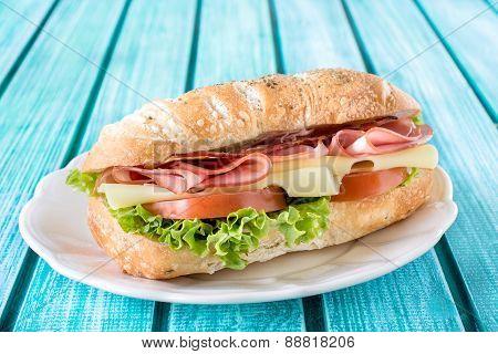 Popular Ciabatta Sandwich