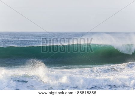 Wave Wall Water Crashing
