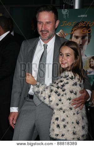 LOS ANGELES - FEB 20:  Coco Arquette, David Arquette at the