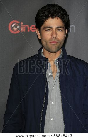 LAS VEGAS - APR 21: Adrian Grenier at the Warner Bros. Pictures Exclusive Presentation Highlighting the Summer of 2015 and Beyond at Caesars Pallace on April 21, 2015 in Las Vegas, NV