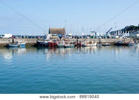 Howth Harbor, Dublin,ireland