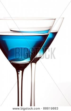 Close up of martini glass