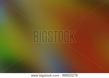 Magic Colorful Blur Abstract Background With Beautiful Gradient.