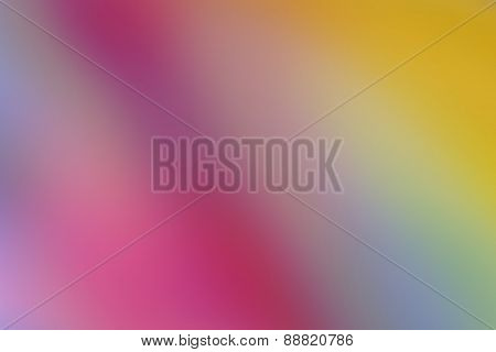 Magic Colorful Blur Abstract Background