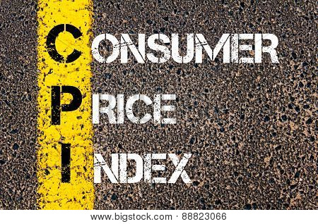 Business Acronym Cpi As Consumer Price Index