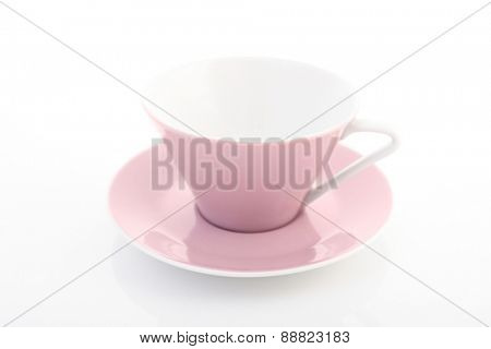 Close up of empty cup