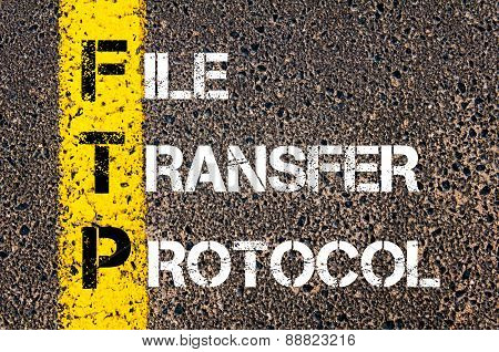 Business Acronym Ftp As File Transfer Protocol