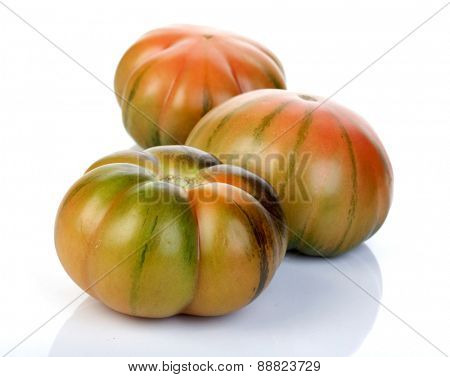 Studio shot of black tomato