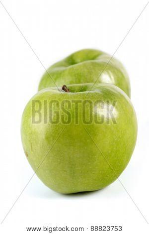 Apples on white backgrund - studio shot