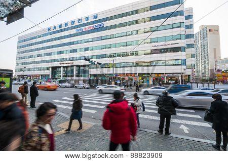 Dong Seoul Bus Terminal.