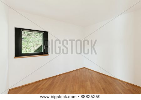 Architecture, Interiors of empty apartment, white room