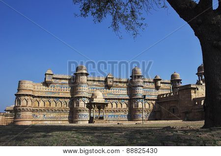View Of Gwalior Fort