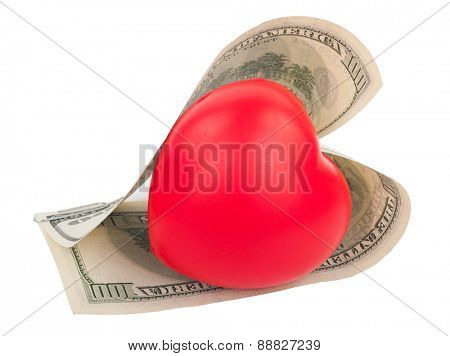 Dollars and heart