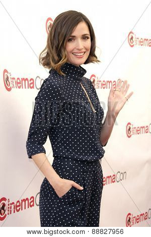 LAS VEGAS - APR 23: Rose Byrne at the Twentieth Century Fox 2015 Presentation at Cinemacon at Caesars Palace on April 23, 2015 in Las Vegas, NV