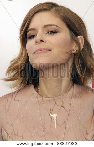 LAS VEGAS - APR 23: Kate Mara at the Twentieth Century Fox 2015 Presentation at Cinemacon at Caesars Palace on April 23, 2015 in Las Vegas, NV
