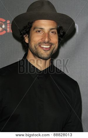LAS VEGAS - APR 21: Adam Rodriguez at the Warner Bros. Pictures Exclusive Presentation Highlighting the Summer of 2015 and Beyond at Caesars Pallace on April 21, 2015 in Las Vegas, NV