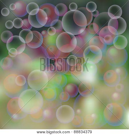 Background, Soap Bubbles