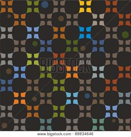 Pattern Colorful Elements On ...