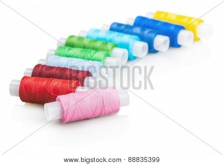 Multicolor Sewing Thread