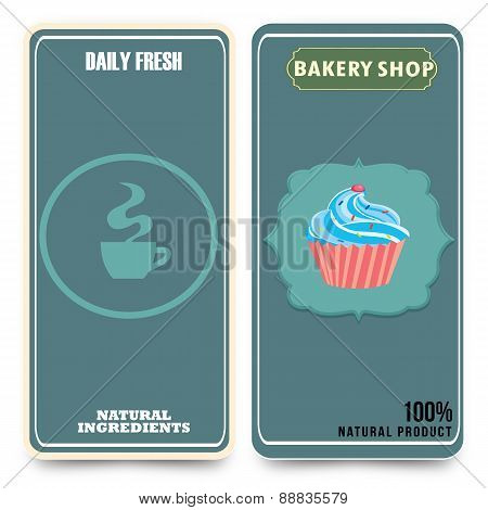 Template For Coffee, Bakery Shop