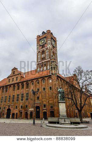 Old Market Square in Torun.