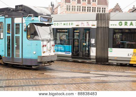 Belgium Tram