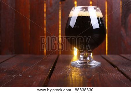 Glass Of Dark Stout