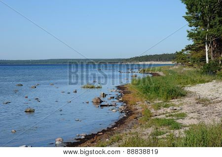 Sweden, The Seaside In Djupvik