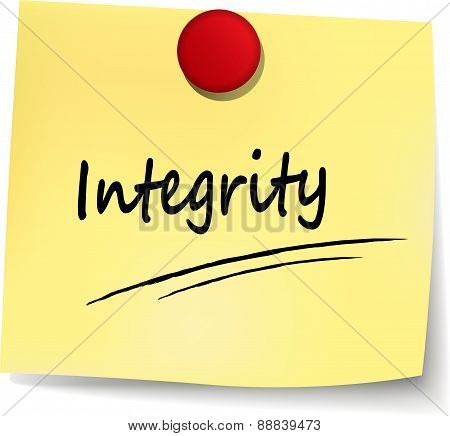 Integrity Note