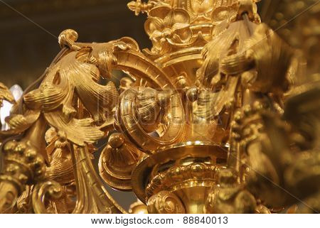 golden candelabrum