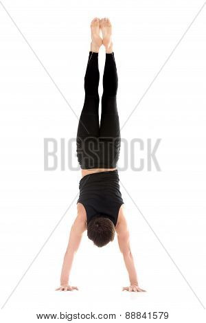 Handstand, Back View