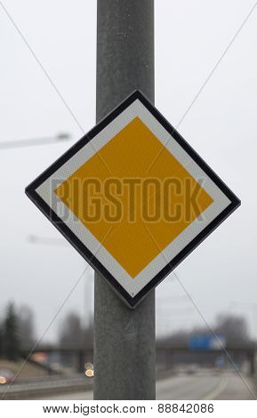 Arterial Road Sign