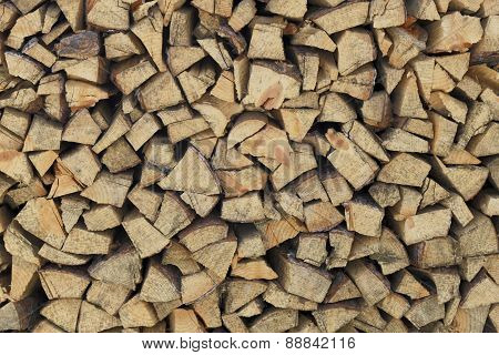 Firewood Neatly Stacked