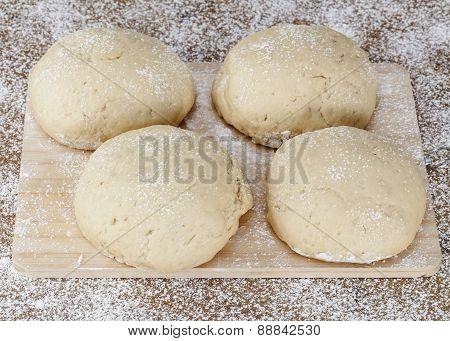 Dough On Table