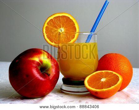 Orange drink V