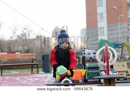 Kid On The Playground