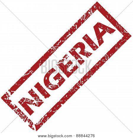 New Nigeria rubber stamp
