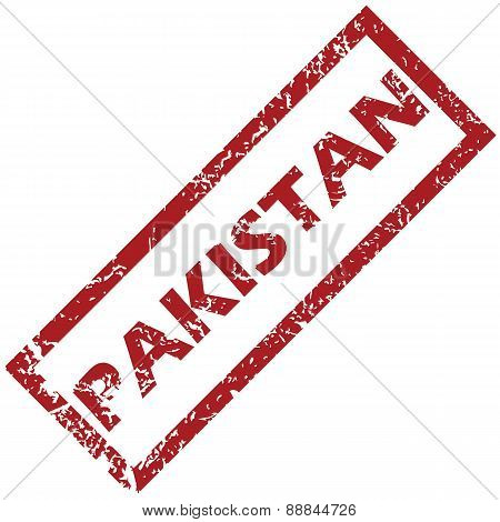 New Pakistan rubber stamp