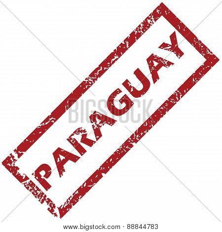 New Paraguay rubber stamp