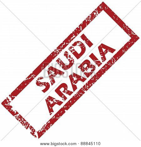 New Saudi Arabia rubber stamp