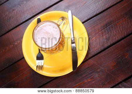 Mug On A Plate