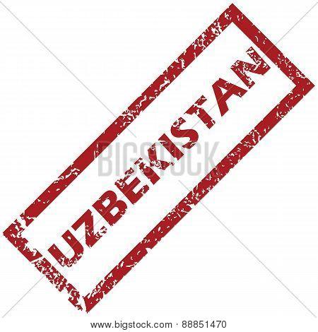 New Uzbekistan rubber stamp