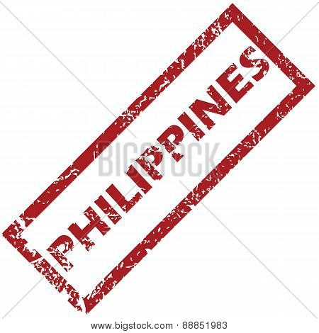 New Philippines rubber stamp