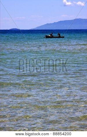 Boat In Nosy Mamoko