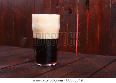 Pint Of Dark Beer