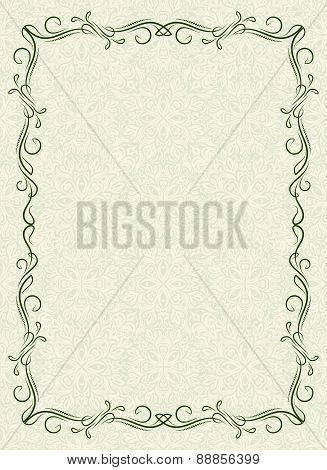 Retro Styled Vector Background.