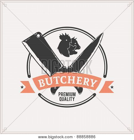 Butchery Label Template