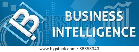 BI - Business Intelligence Business Theme Logo